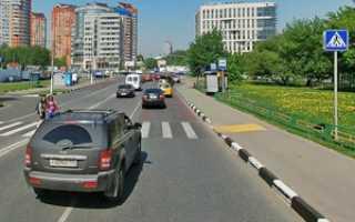 Проезд и проход через пешеходный переход по ПДД