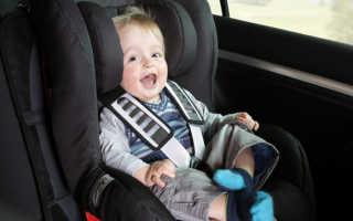 Детское кресло в автомобиль по ПДД