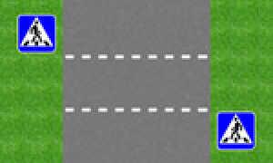 Желтая разметка на дороге по ПДД 4