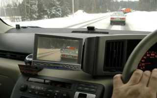 Использование камеры обгона для праворульных машин