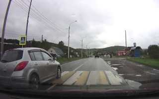 Можно ли обгонять на пешеходном переходе