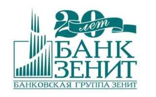 Оформление автокредита в Зенит банке