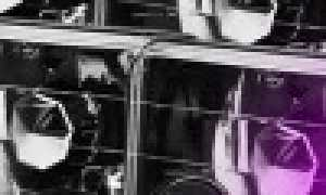 Фиолетовый цвет ксенона