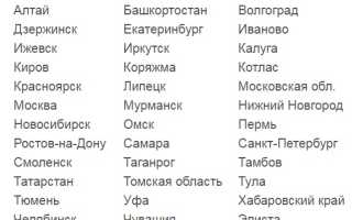 База данных ГИБДД по ДТП