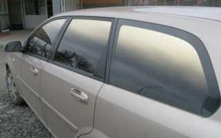 Тонировка стекол авто напылением