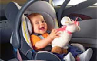 Разрешена ли перевозка детей на переднем сиденье